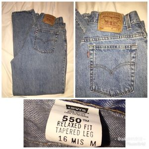 "Vintage ""Mom"" Jeans"